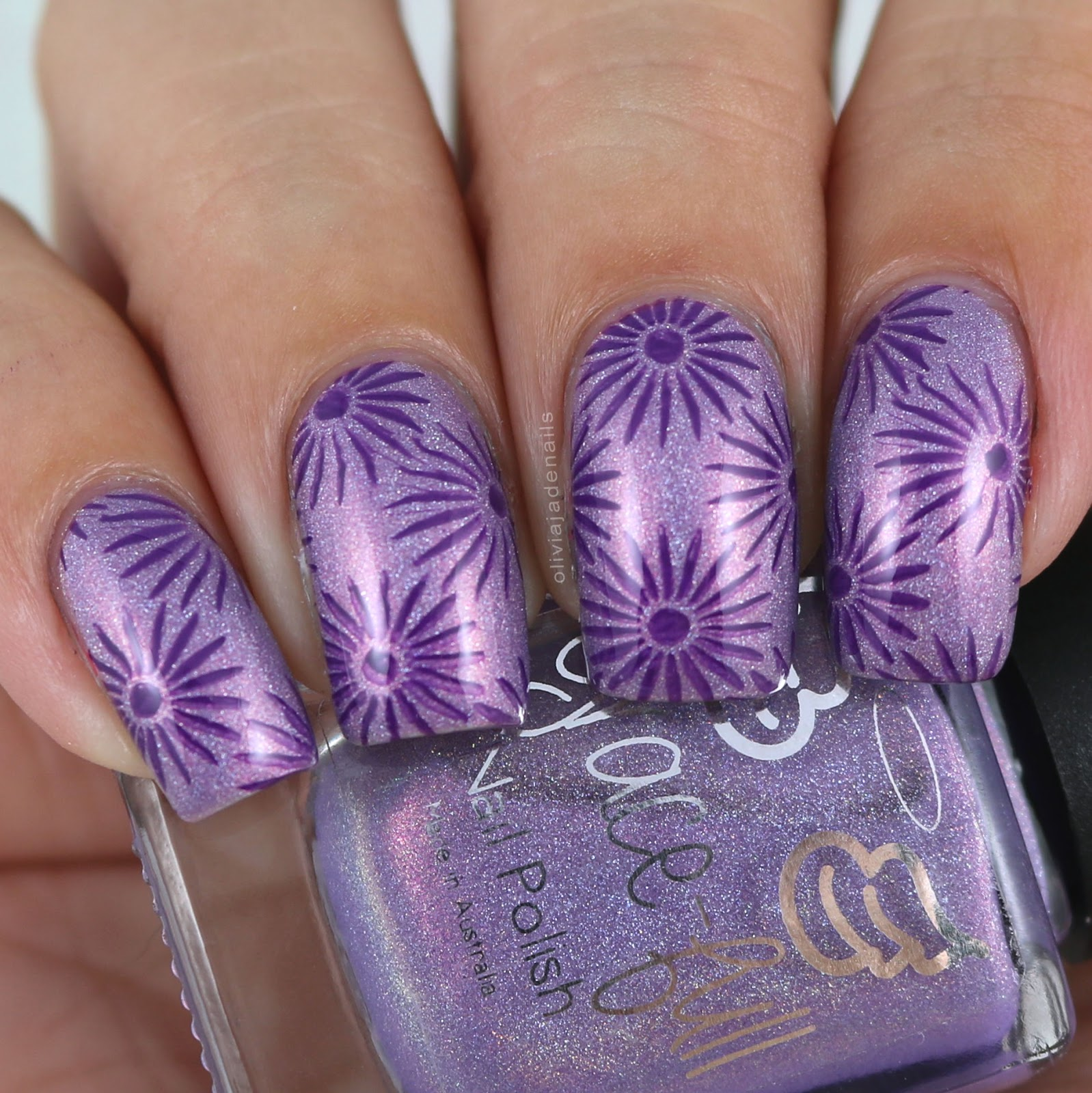 Olivia Jade Nails: Challenge Your Nail Art: Flowers