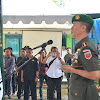 Kolonel Inf Suwarno, Pimpin Upacara Pengambilan Sumpah Dandim Baru Pangkep