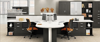 Global Open Concept Office Furniture