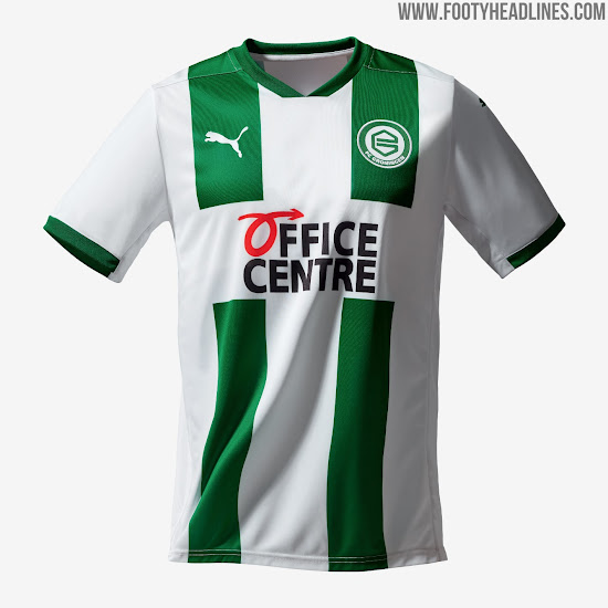 Groningen 20-21 Home & Away Kits Released - To be Worn by Robben ...
