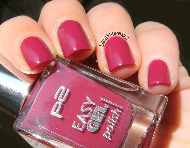 P2 Easy Gel Polish 080 Faded Brick