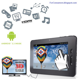 Scroll Excel Android tablet