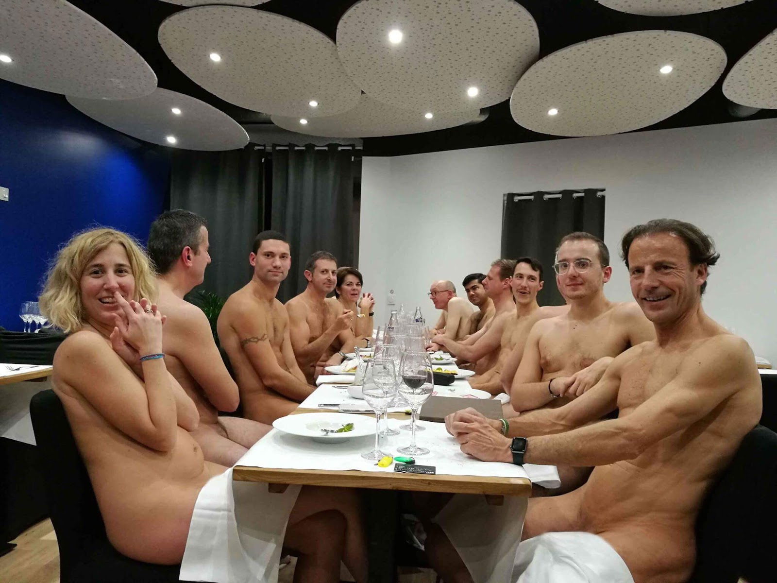 Russian Chefs In Naked Lockdown Protest After Coronavirus Strips Them Of Income