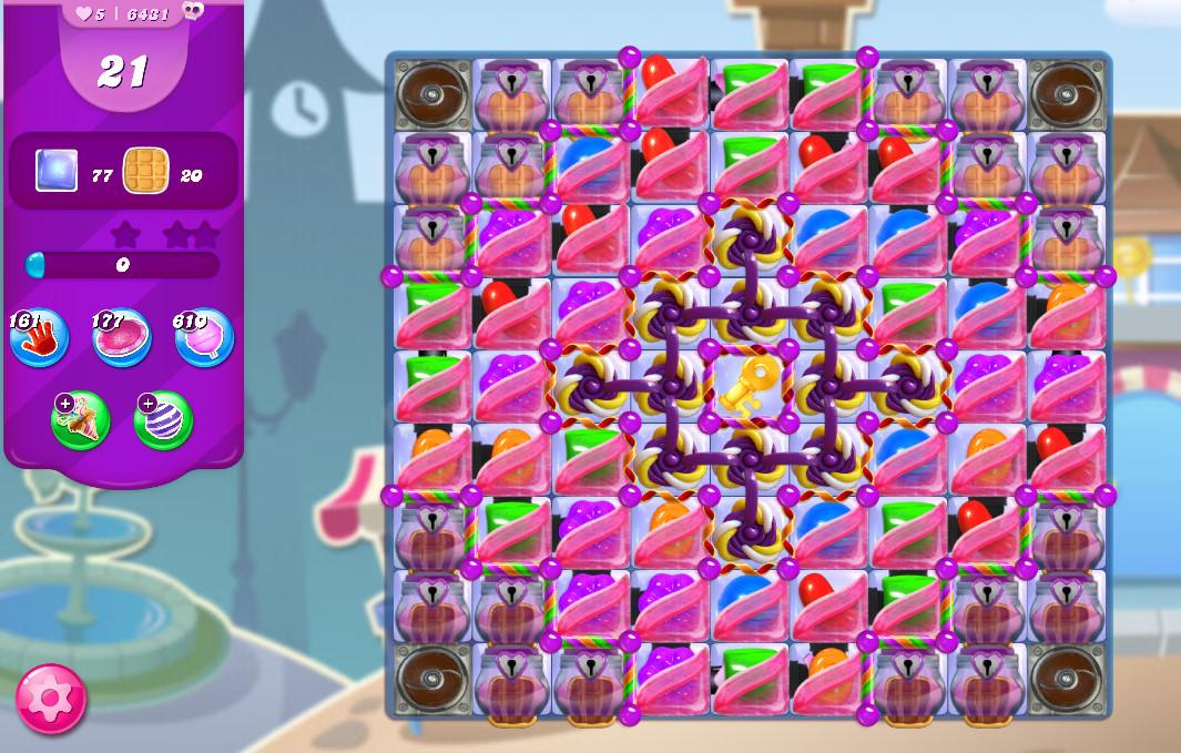 Candy Crush Saga level 6431