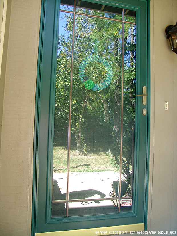 before shot of front door, modern masters front door paint, condo front door