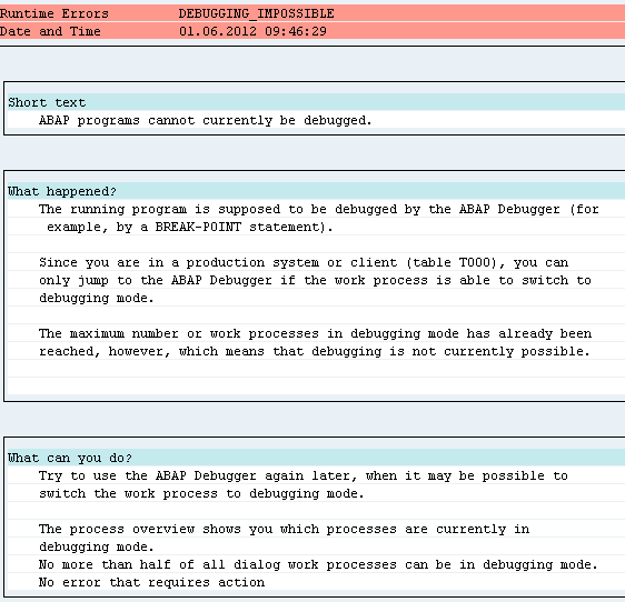 SAP Basis Tutorials: 2012-05-27