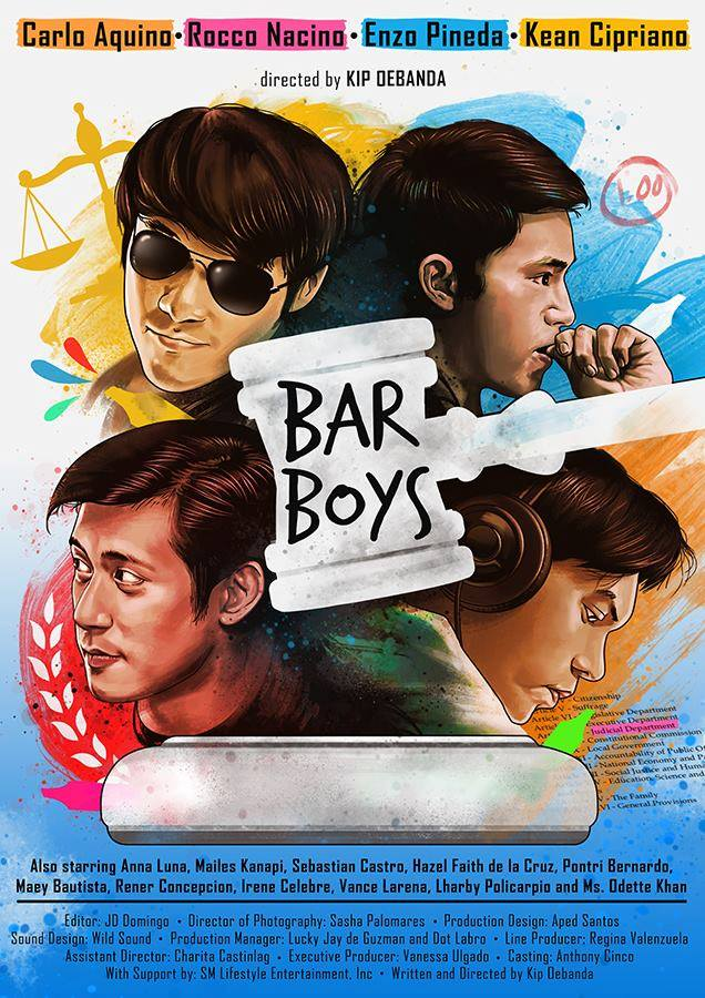 'Bar Boys' Movie Enzo, Carlo, Rocco, Kean
