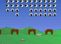 Here is an alernate take on #SpaceInvaders dubbed sheep invaders! #ArcadeGames #OnlineGames