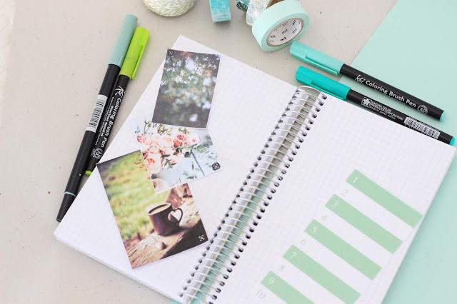Bullet journal: planifica conmigo la semana