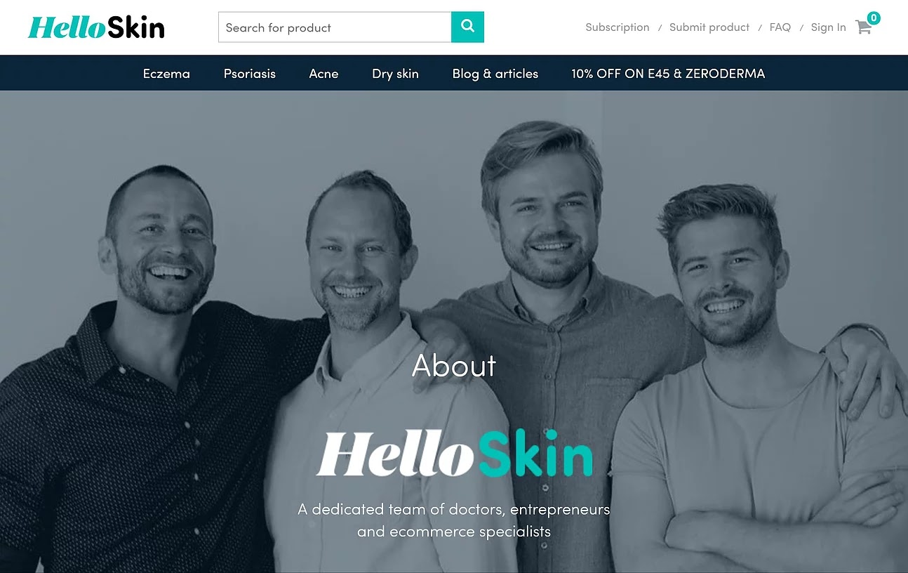 HelloSkin - Meet The Team