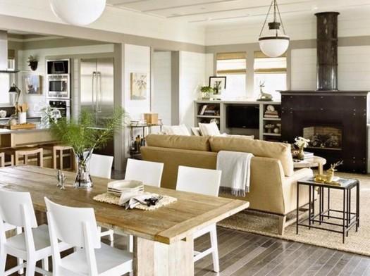 Coastal Beach residence Home Interiors   Interior Decorating - Beach Style Homes