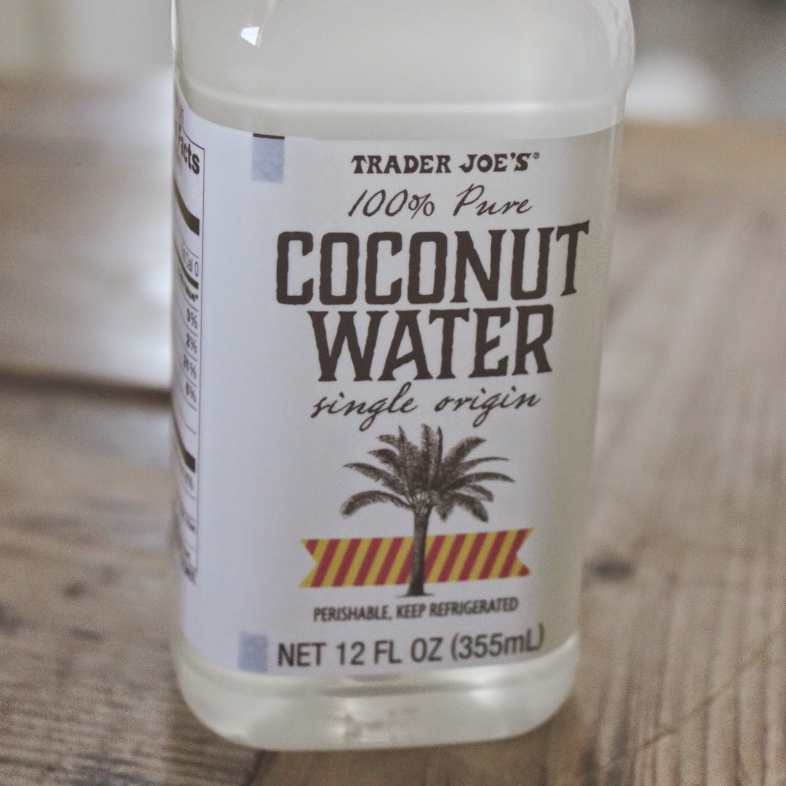 Trader Joes Coconut Water Aka The Best One Grishmapolitan