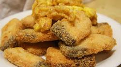 Làm món cá tẩm bột chiên xù vừa giòn vừa thơm