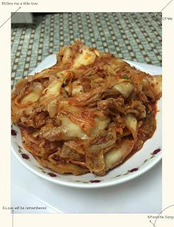 讓人眼睛一亮的韓式泡菜