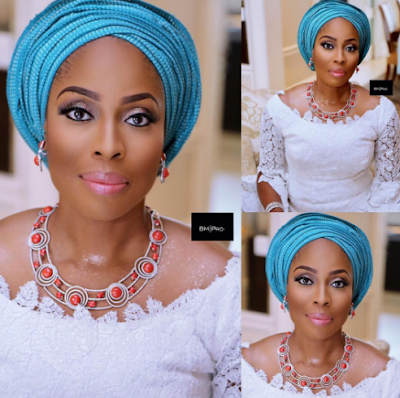 Beautiful makeup photos of Mo Abudu