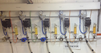 Beer disensing equipment installation