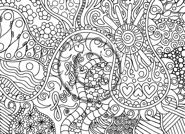 How To Draw Psychedelic Coloring Pages For Psychedelic Drawing To Coloring  Pages