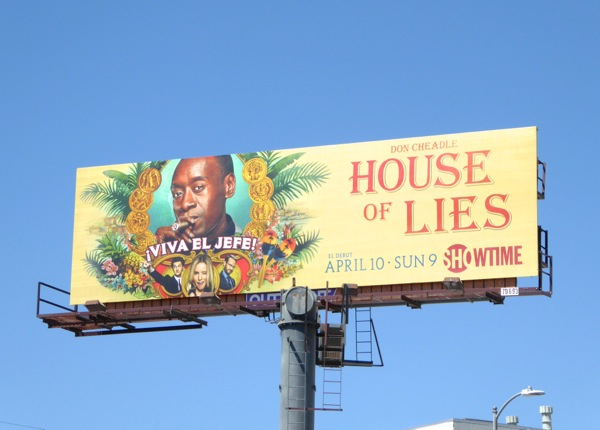 House of Lies season 5 billboard