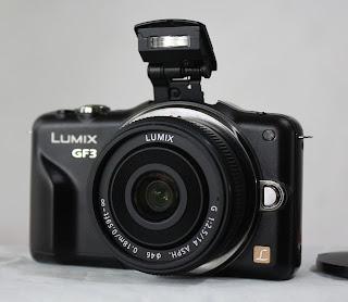 Mirrorless Panasonic Lumix DMC-GF3C ( Fullset )