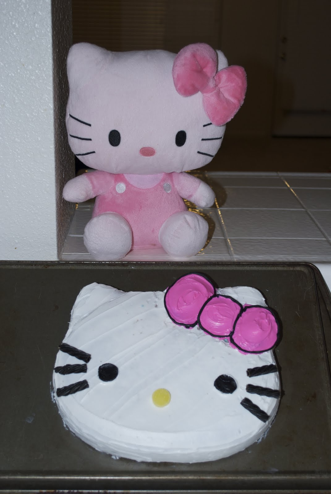 Hello Kitty Cake A Pumpkin And A Princess