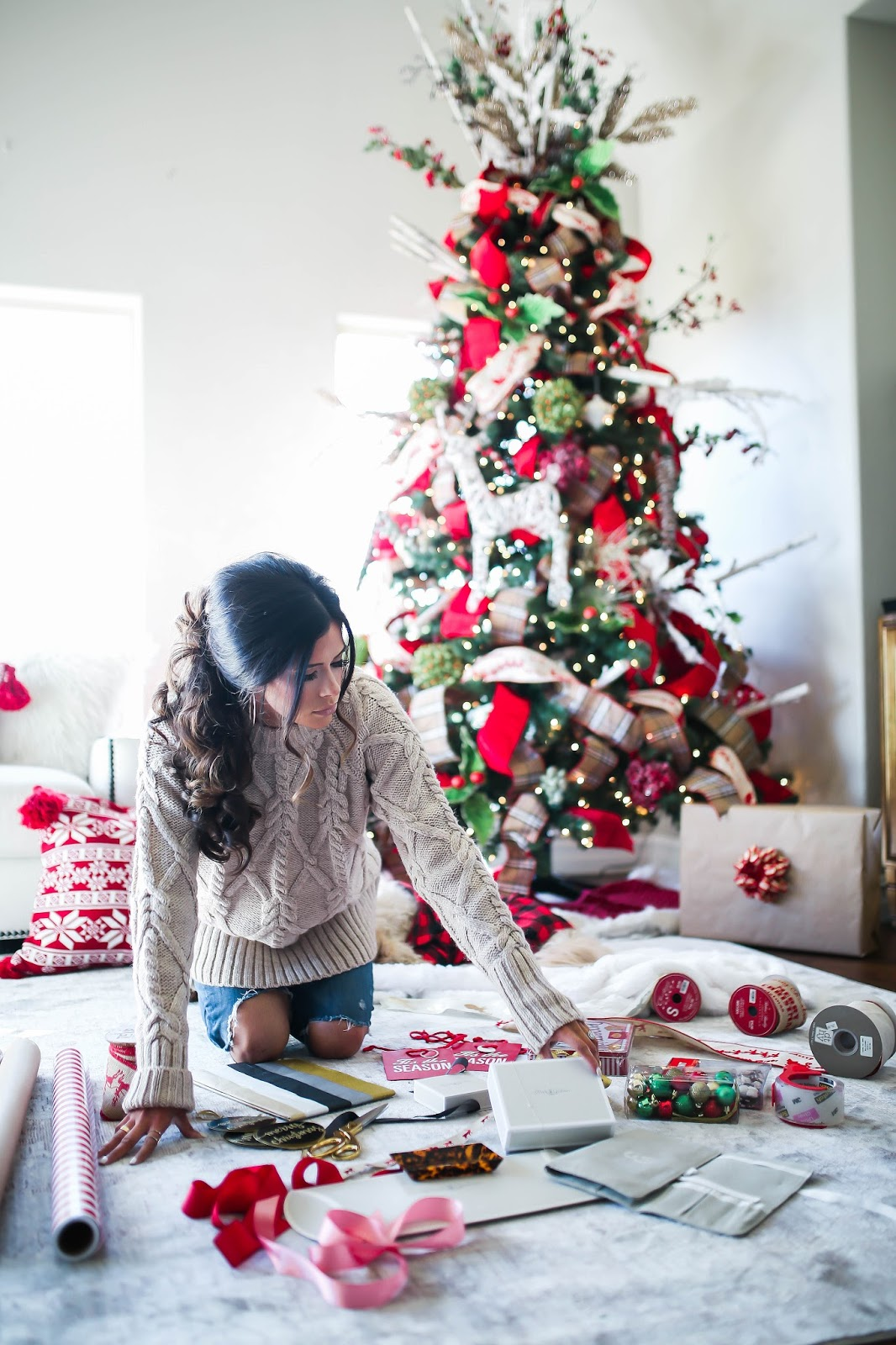 Photo of Pile of Christmas gifts under a Christmas tree ... |Wrapped Christmas Presents Under The Tree