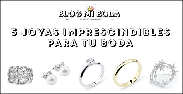 Cinco joyas imprescindbles para tu boda de RABAT