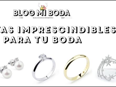 Cinco joyas imprescindibles para tu boda