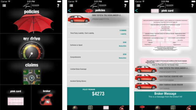 INSURANCE-ROGERS INSURANCE LAUNCHES MOBILE INSURANCE APP!