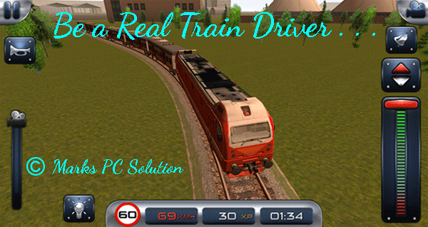 Train Driver Simulation Game