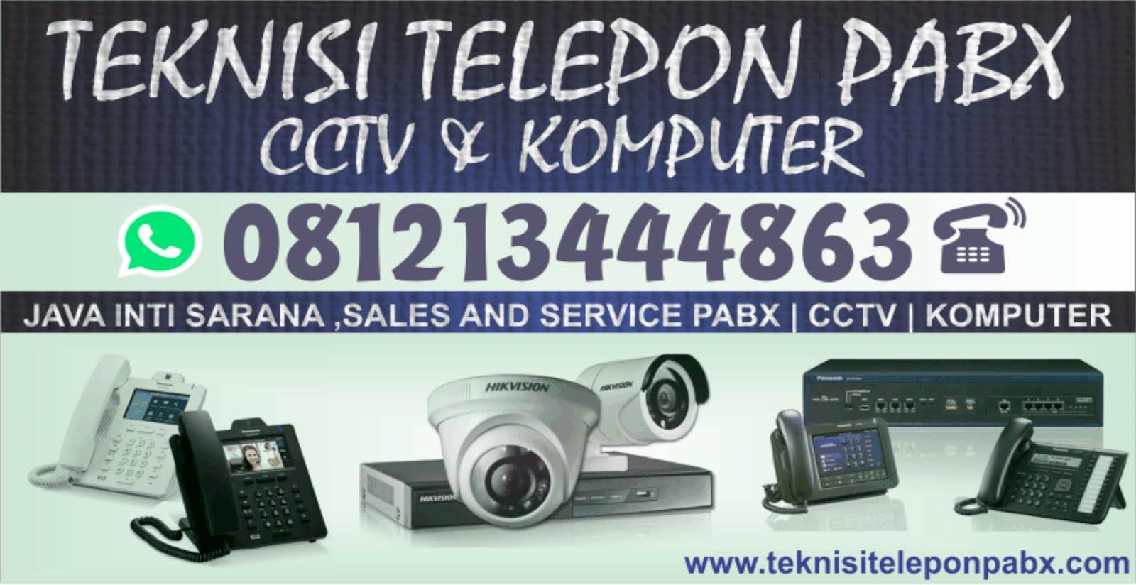 Teknisi Telepon PABX