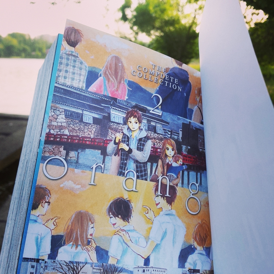 recenzie manga orange the complete collection 2 takano ichigo