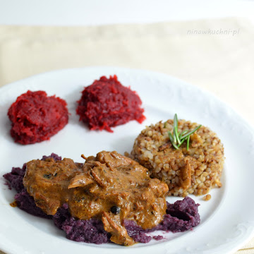 Krem puree z czerwonej kapusty do dań mięsnych - Czytaj więcej »