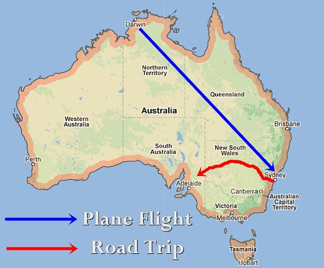 Flight sydney to darwin