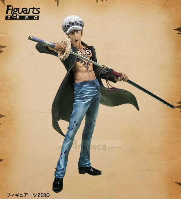 TRAFALGAR LAW Dressrosa Arc Figuarts ZERO FIGURE ONE PIECE BANDAI