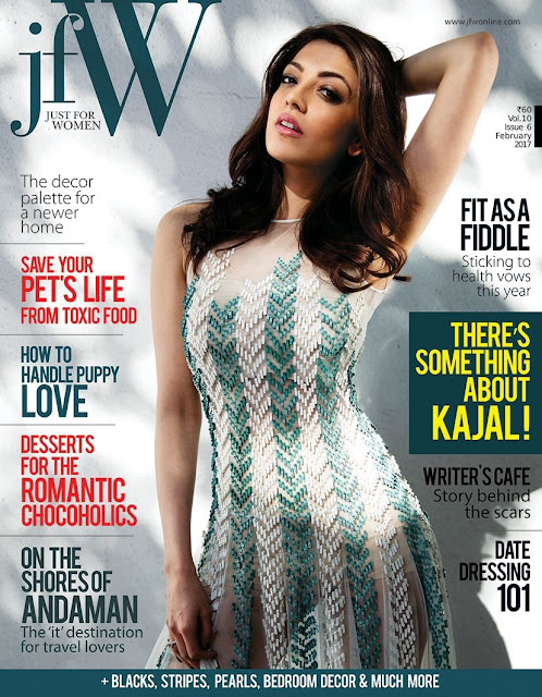 Kajal Agarwal JFW Magazine Photoshoot February Edition 2017