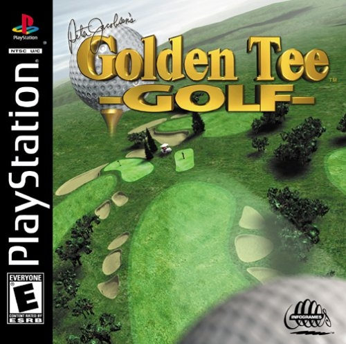 Golden Tee Golf - Peter Jacobsons - PS1 - ISOs Download