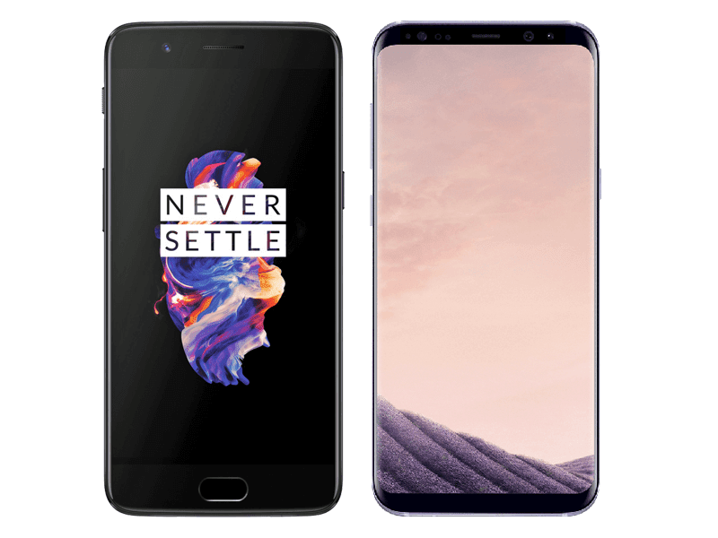 OnePlus 5 Vs Samsung Galaxy S8+ Specs Comparison
