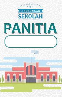 Contoh Kartu/ID CARD PANITIA MPLS (Docx + JPeg + PSD)