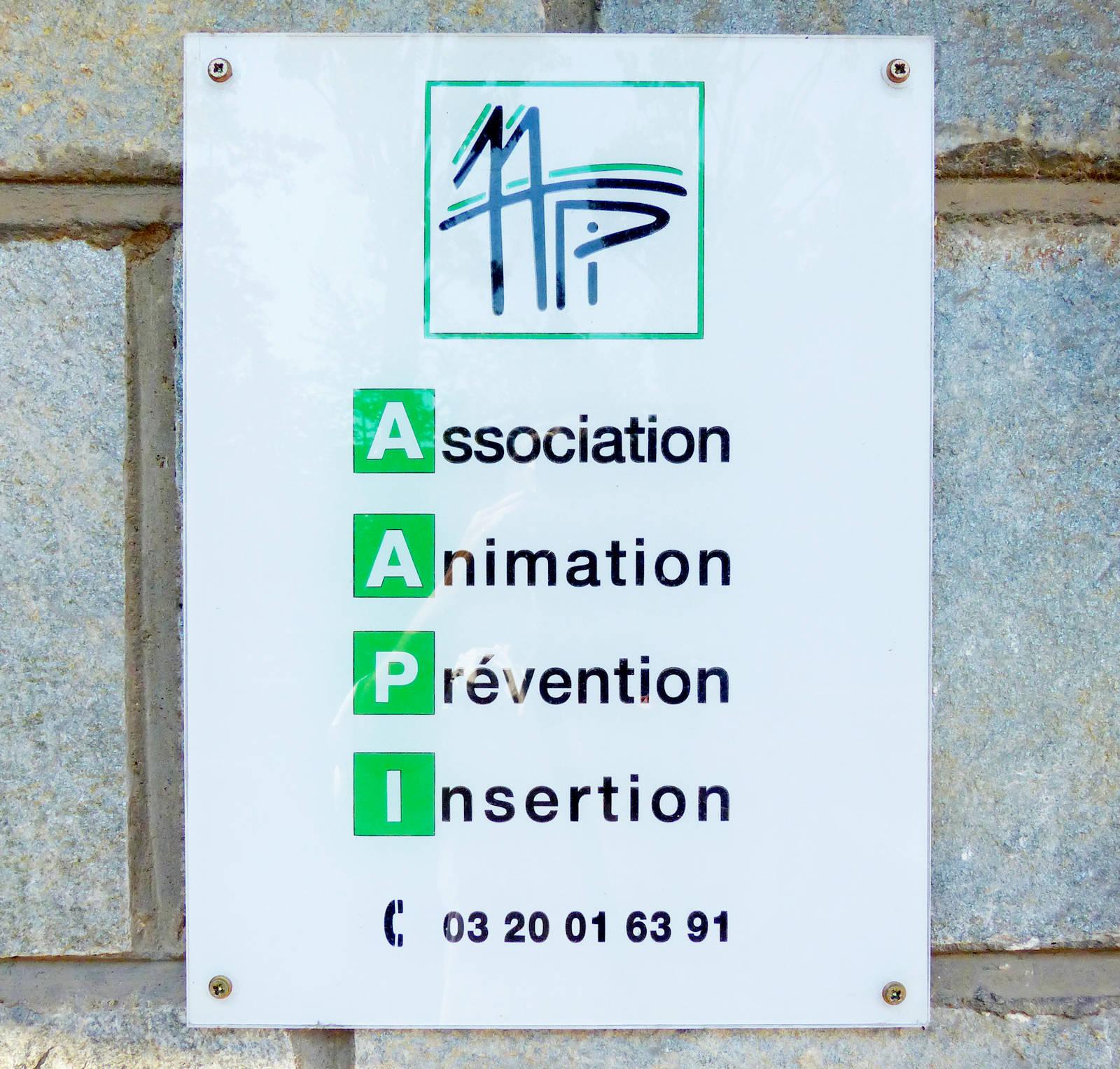 AAPI Tourcoing - Plaque