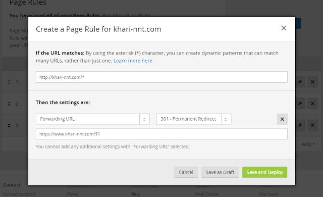 [TUT]Hướng Dẫn Bật SSL Cho Tên Miền Tùy Chỉnh Trên Blogspot