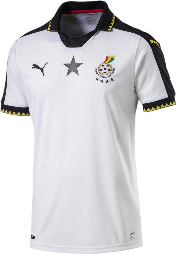 Puma divulga nova camisa titular de Gana - Show de Camisas acb0b767036f5