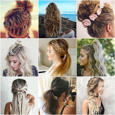 Easy Summer Hairstyles, Hairstyles to do for summer, Braided hairstyles, hair do for summer, hair updo for summer, summer wedding hairstyles, work hairstyles for summer, summer hairstyles, everyday hairstyles for summer