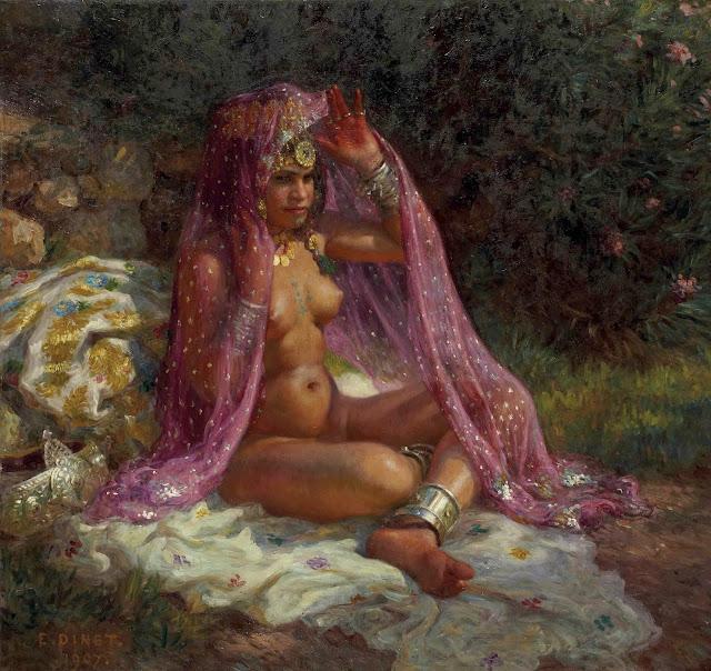 Nasreddine Dinet: Sotto gli oleandri