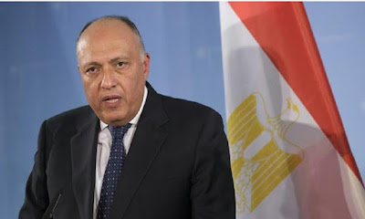 سامح شكرى, رئيس وزارة السودان, السودان, مصر,