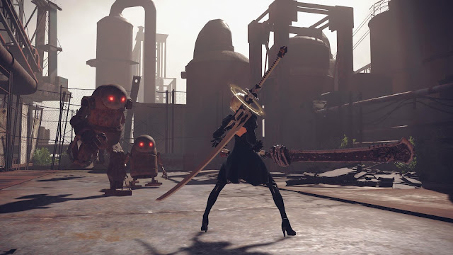 NieR Automata Day One Edition PC Free Download Screenshot 1
