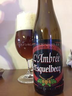 biere de garde Thiriez - L'Ambrée d'Esquelbecq birra blog birra artigianale