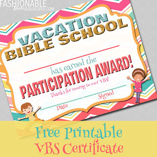 photo regarding Vbs Certificate Printable titled My Present day Plans: Totally free Printable: Holiday vacation Bible
