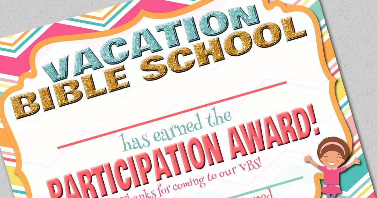 My Fashionable Designs Free Printable Vacation Bible School