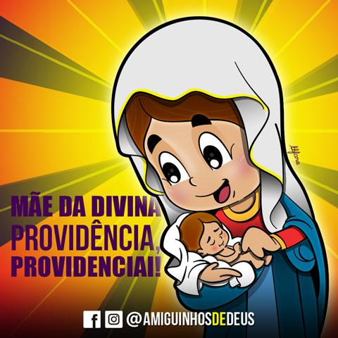 nossa senhora da divina providencia desenho
