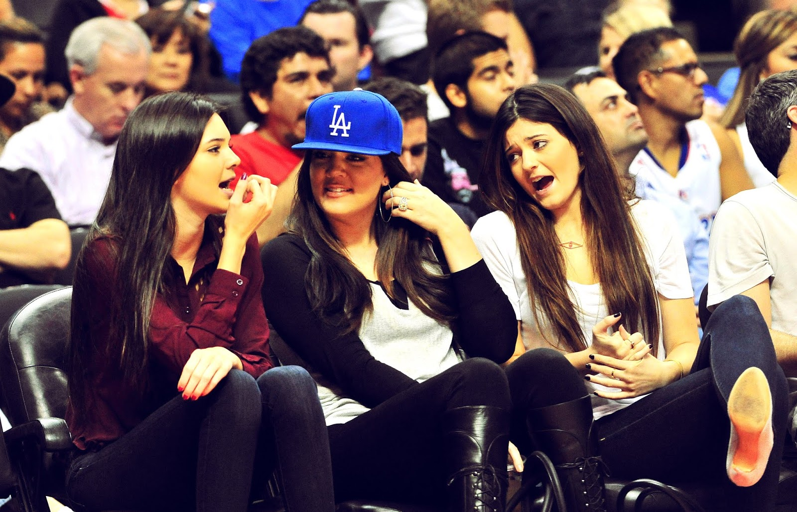 14 - Watching The Los Angeles Clippers Game on October 17, 2012